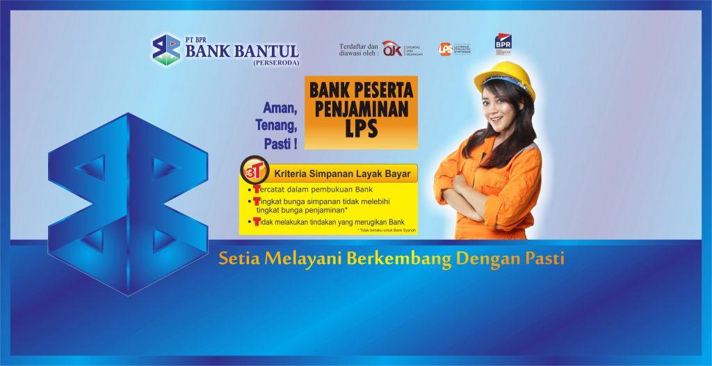 Halaman Home Web Bank Bantul LPS Donna 1