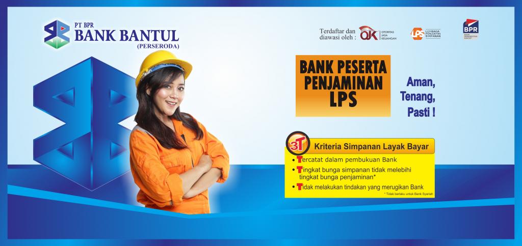 Halaman Home Web Bank Bantul Perubahan 3 LPS